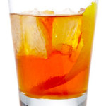 Old fashioned - 5,0 cl Bourbon whiskey, zucchero, Angostura, soda water.