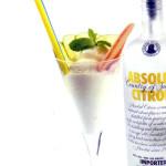 Affogato alla vodka lemon