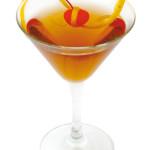 Balsamico - 4,0cl bacardi limon, 3,0 cl Martini banco, gg Aceto balsamico, Twist limone