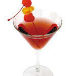 Manhattan Perfect - 4,0cl Rye whiskey, 1,0cl vermouth rosso, 1,0cl vermouth dry, gg angostura