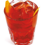 Negroni - 2,0cl gin, 2,0 cl Bitter, 2,0cl Martini rosso