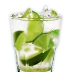 Caipiroska - 4,0cl di Vodka, lime pestato, zucchero di canna