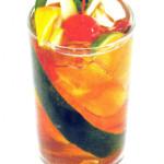 Pimm's - 5,0cl Pimm's, 12,cl Ginger ale o lemonsoda