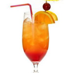 Planters -  4,0 cl Bacardi, 4,0 cl succo d'arancia, 2,0cl lime spremuto, zucchero di canna