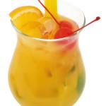Planters - 4,0cl Bacardi, 4,0cl succo d'arancia, 2,0cl lime spremuto, zucchero di canna