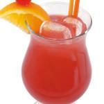 Sex on the beach - 3,0cl vodka, 3,0cl liquore alla pesca, 7,0cl succo d'arancia, 7,0cl succo di cranberry