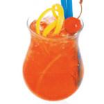 Shirley Temple - 2,0 cl sciroppo di granatina, 18,cl Ginger ale