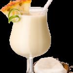 Virgin colada - 4,0cl latte di cocco, 16,0 cl succo di ananas