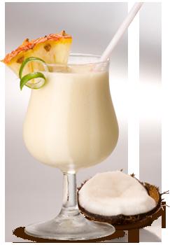 Virgin colada – 4,0cl latte di cocco, 16,0 cl succo di ananas