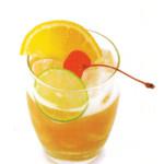 Whiskey sour - 4,0 cl Bourbon whiskey, 4,0 cl succo di limone, 2,0 cl sciroppo di zucchero